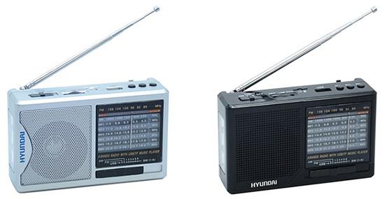 портативные радиоприемники Hyundai H-PSR100, H-PSR120, H-PSR140 и H-PSR160