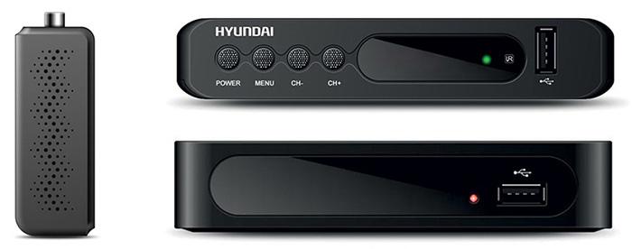 Ресиверы DVB-T2 от Hyundai
