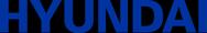 Hyundai logo blue